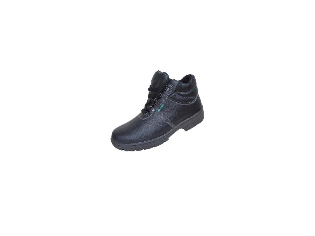 Bezpečnostná členková obuv KLASIK 91 255 S1 čierna