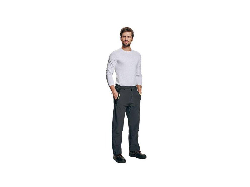 Pánske softshelové nohavice OLZA - dopredaj