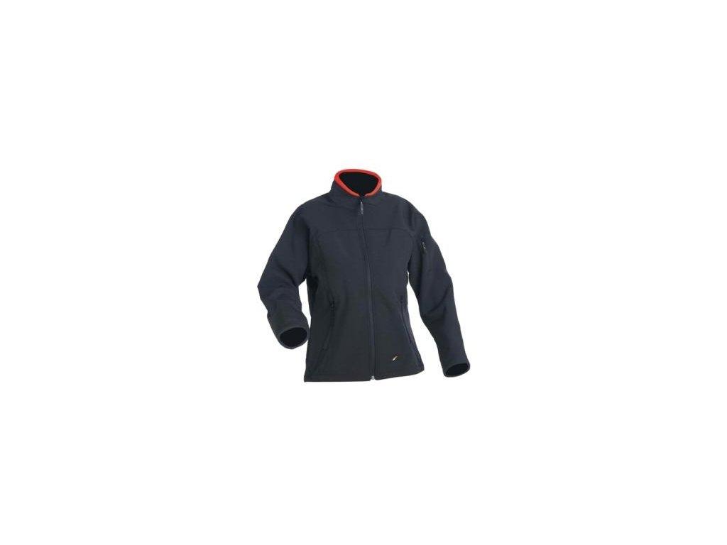 Dámska softshelová bunda JANNALI čierna - dopredaj