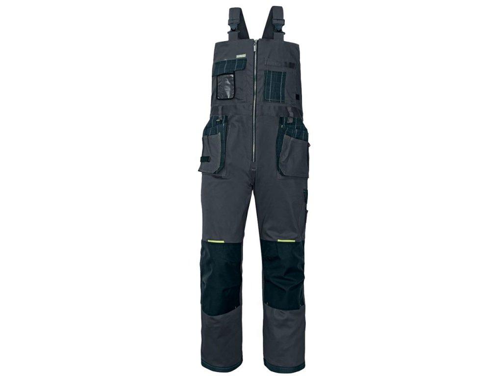 Pánske montérkové nohavice s náprsenkou OLZA - dopredaj