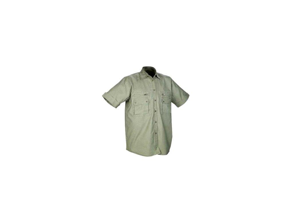 Pánska košeľa s krátkym rukávom PETER - dopredaj