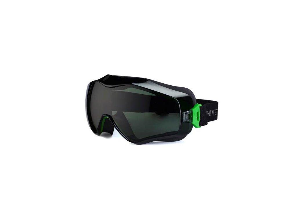 Okuliare UNIVET 6X3 zelené G15 6X3000005