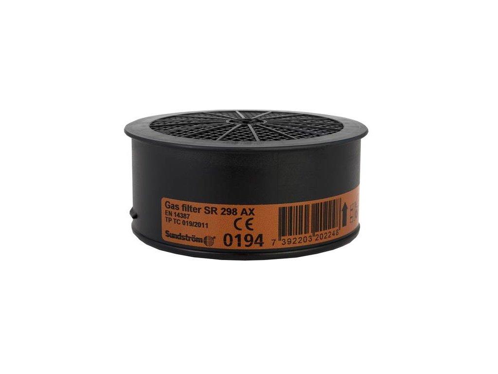 Filter SUNDSTRÖM SR 298 AX - pre polomasky a celotvárové masky