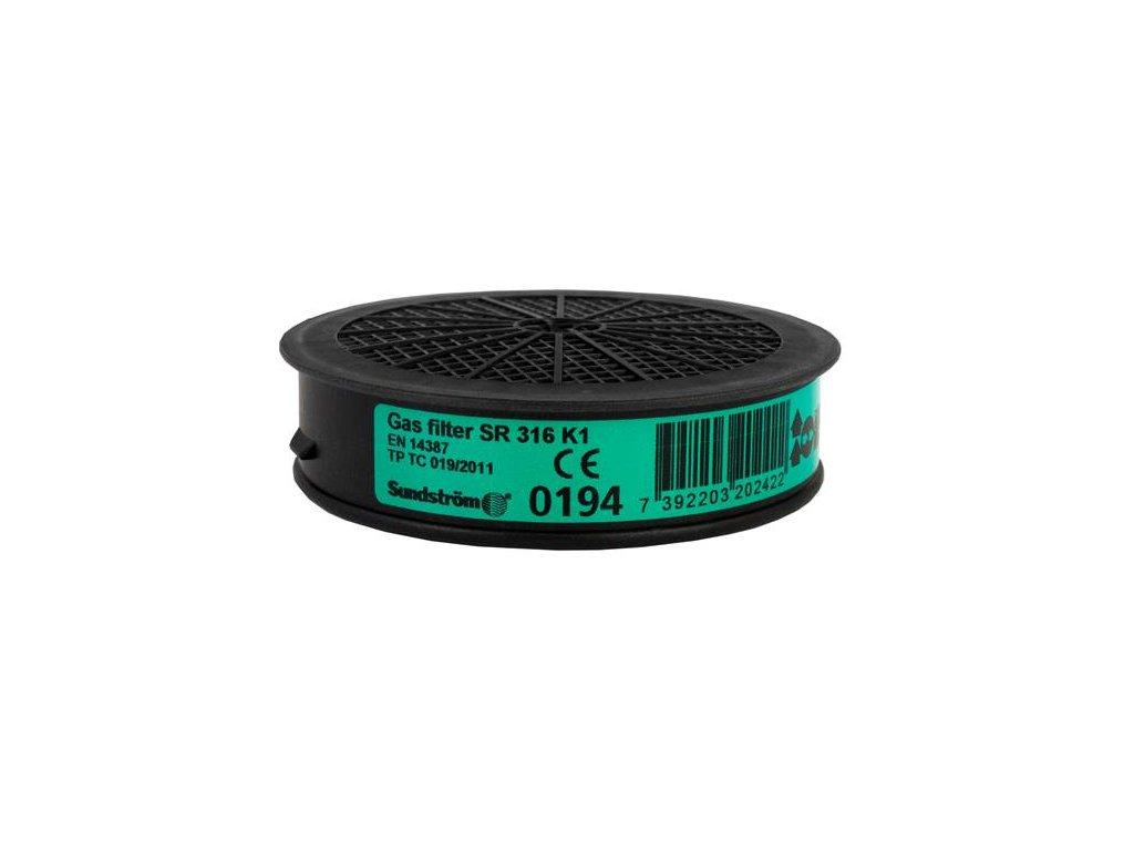 Filter SUNDSTRÖM SR 316 K1 - pre polomasky a celotvárové masky