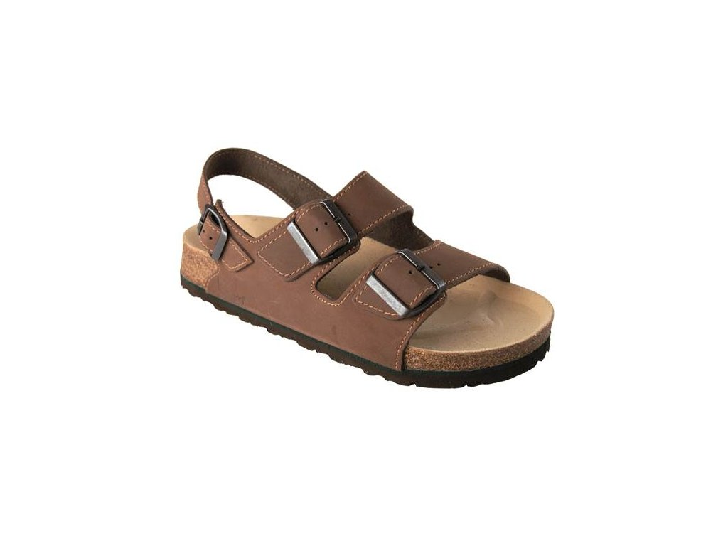 Sandál FENIX hnedý