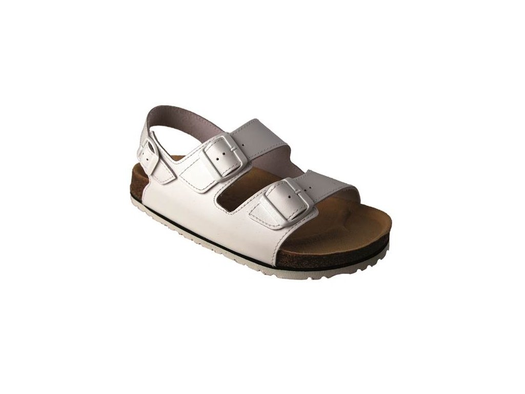 Sandál FENIX bielý