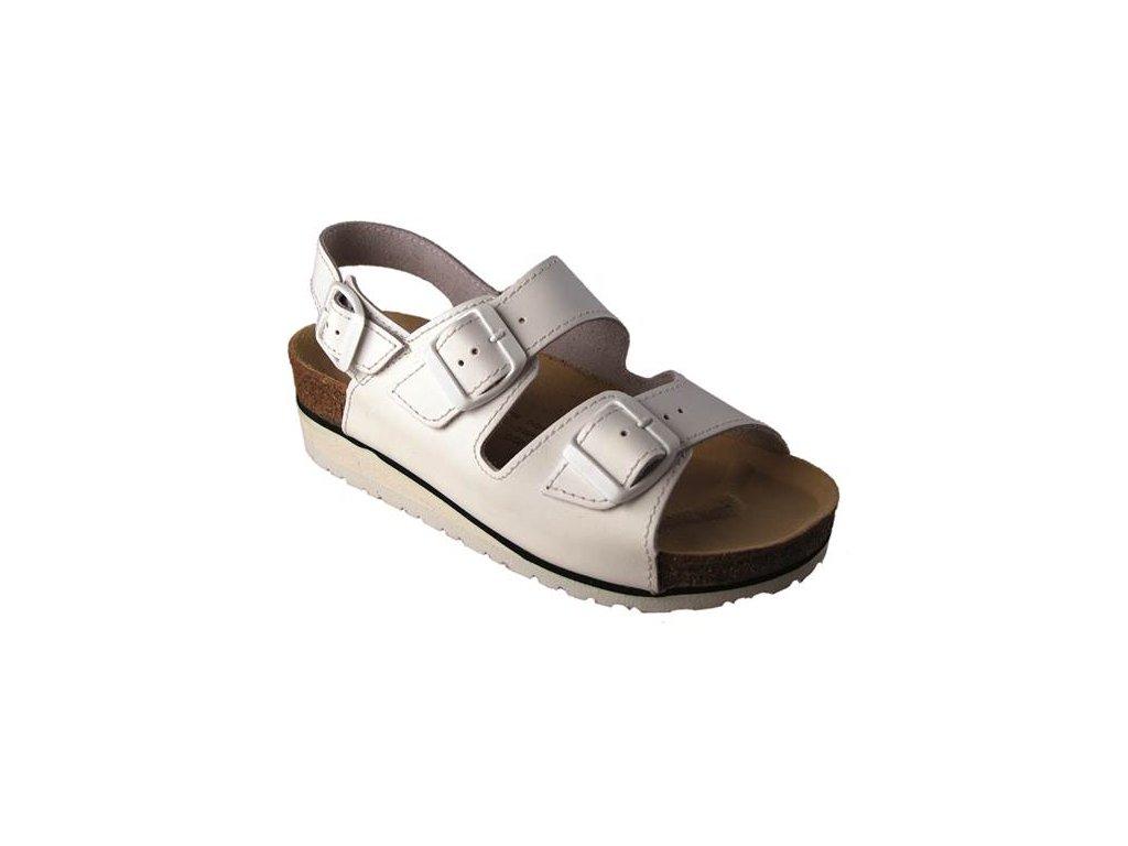 Sandál DORIS bielý