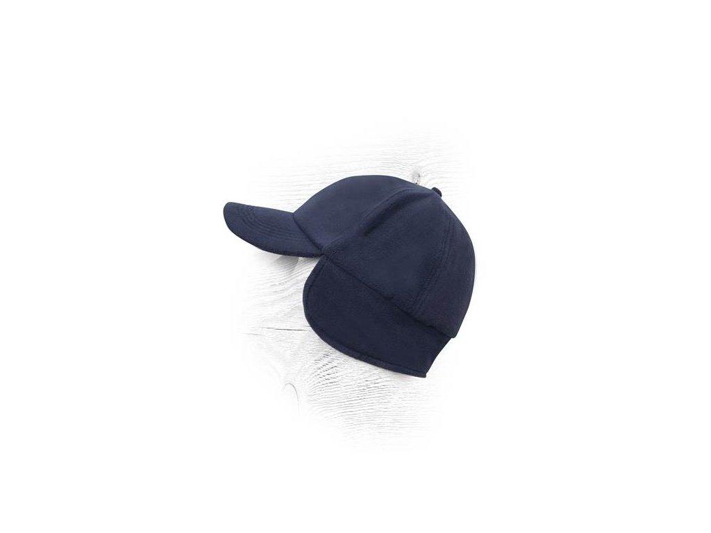 Zimná čiapka so šiltom LION modrá