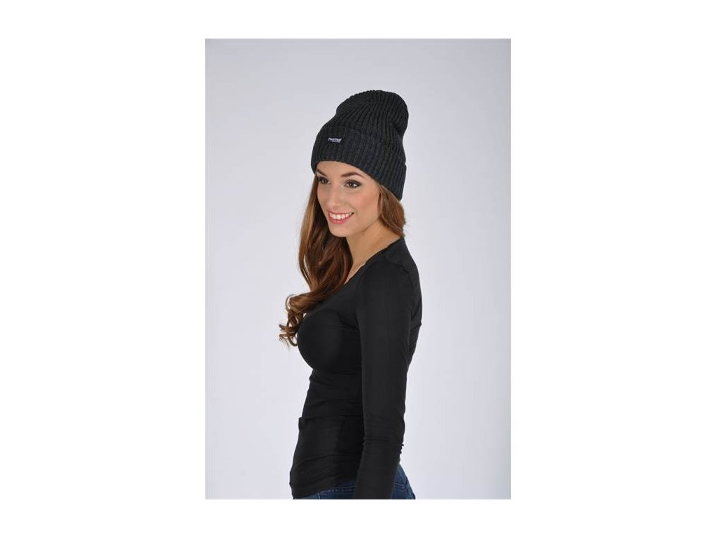 Zimná čiapka pletená + flísová podšívka EDWIN