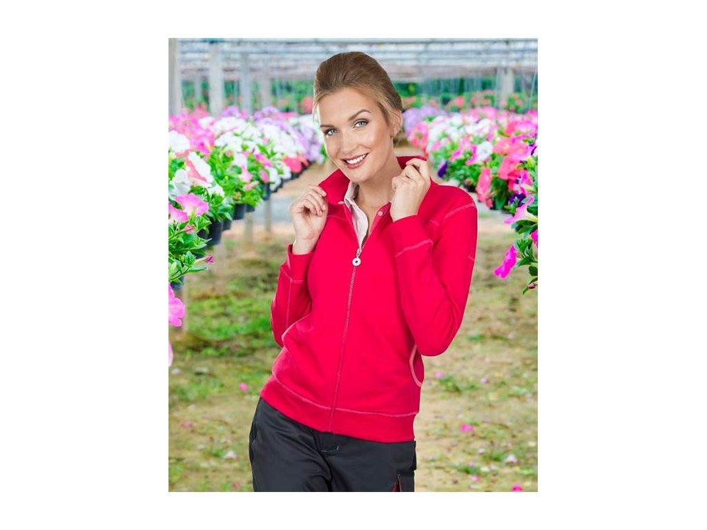 Dámska mikina FLORET ružová
