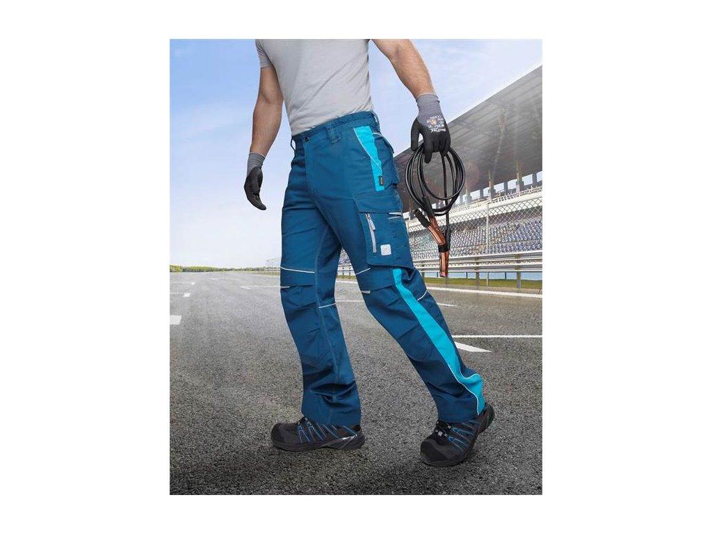 Nohavice do pása ARDON®URBAN modré - 183-190 cm