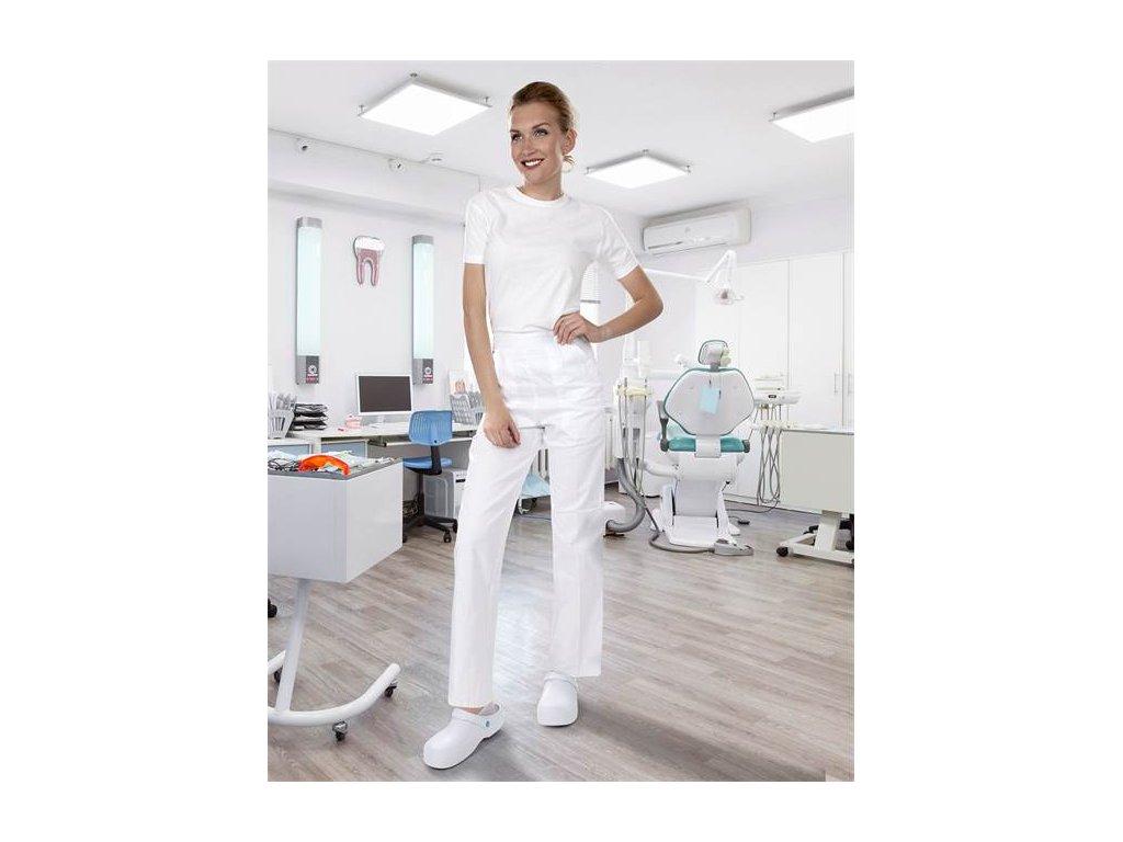 Nohavice dámske SANDER biele