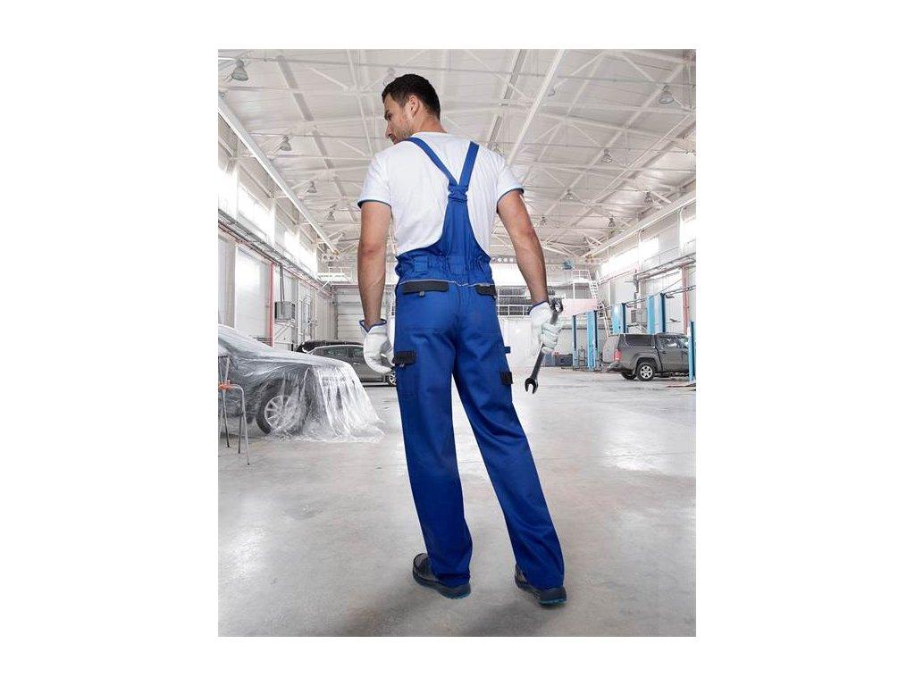 Nohavice s náprsenkou COOL TREND modré