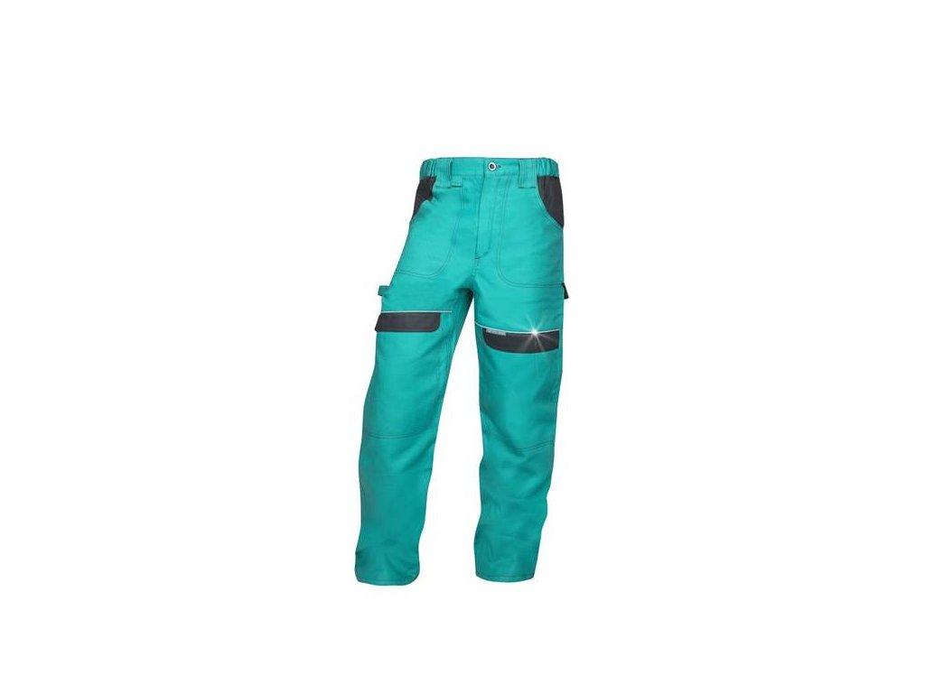 Nohavice do pása COOL TREND zelené