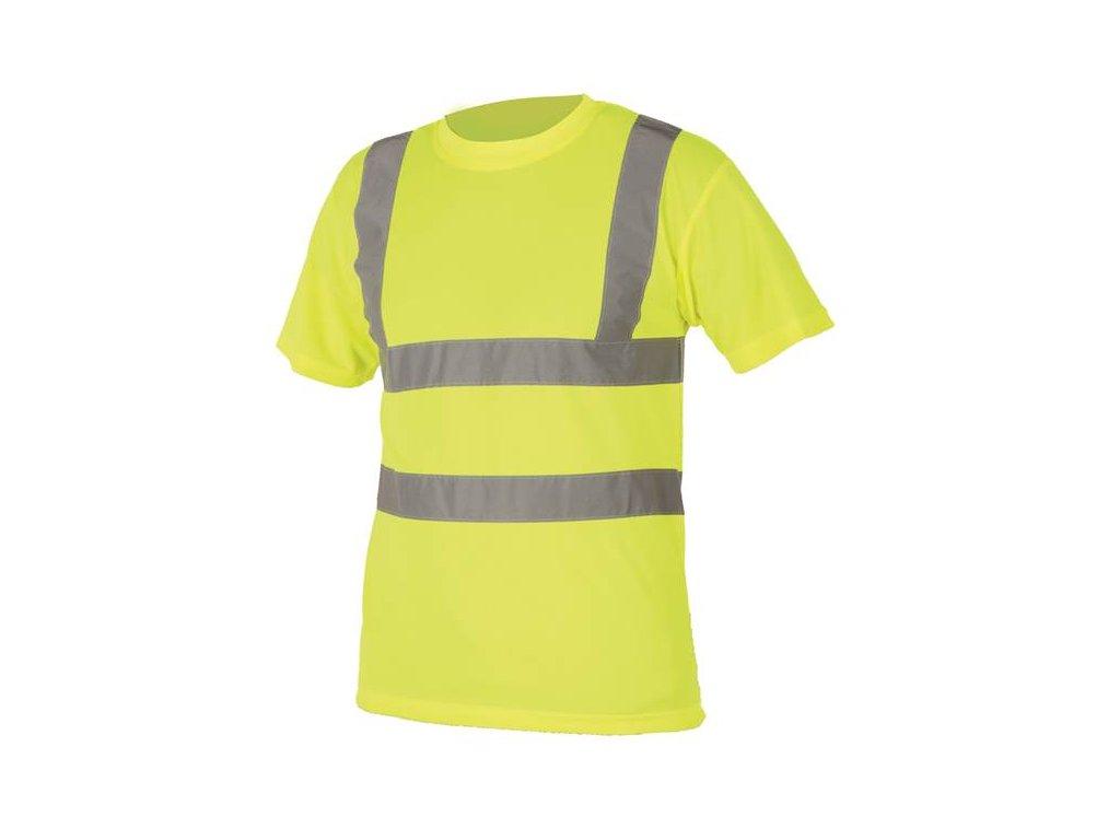 Tričko hi-viz žlté S478