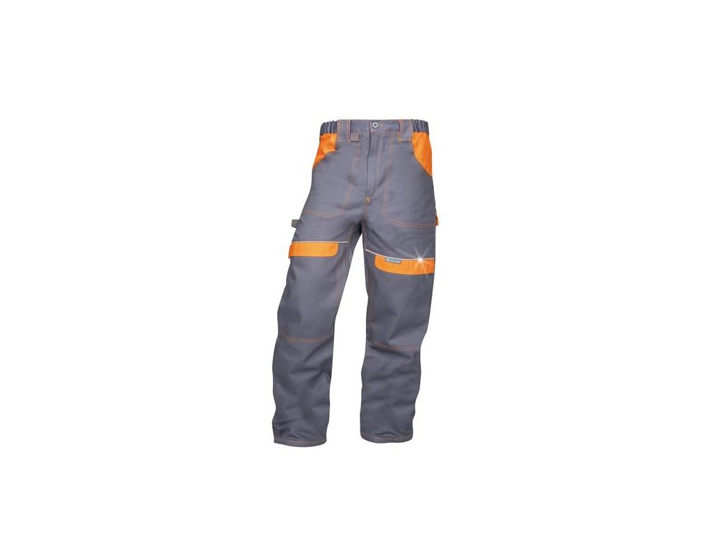Nohavice do pása ARDON®COOL TREND sivo-oranžové