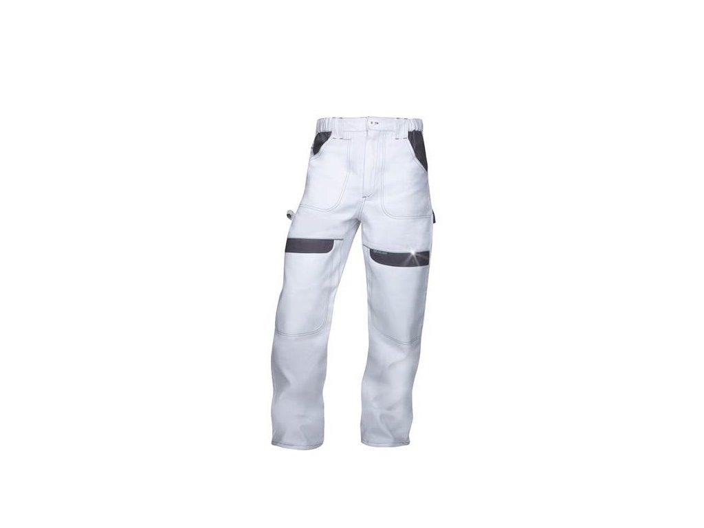 Nohavice do pása COOL TREND bielo-sivé