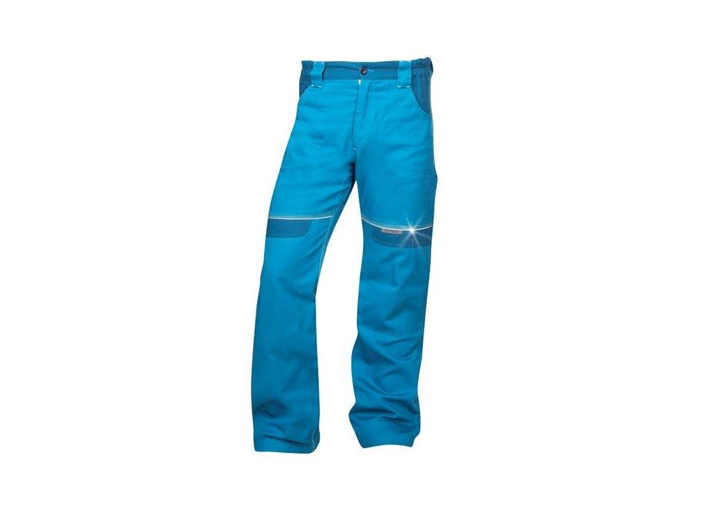 Nohavice do pása COOL TREND predĺžené stredne modré
