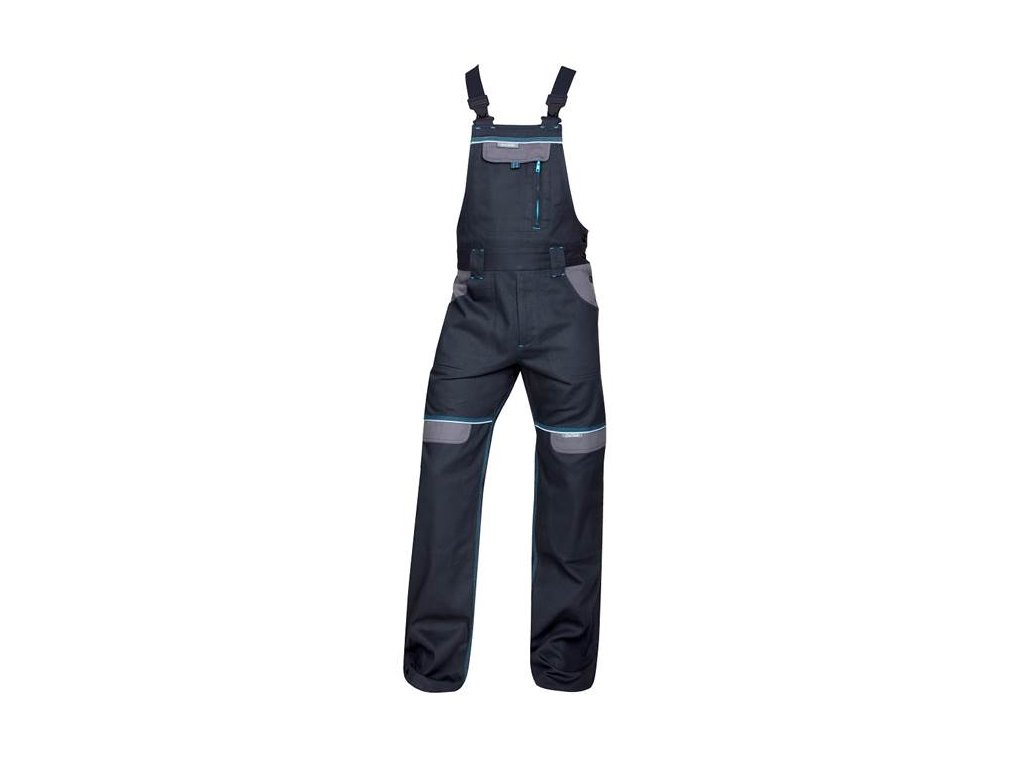 Nohavice s náprsenkou COOL TREND čierne