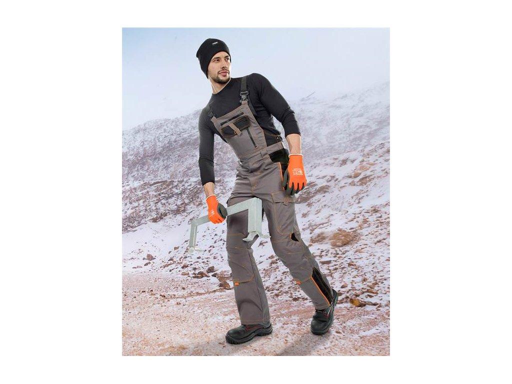Nohavice s náprsenkou VISION 09, zimné