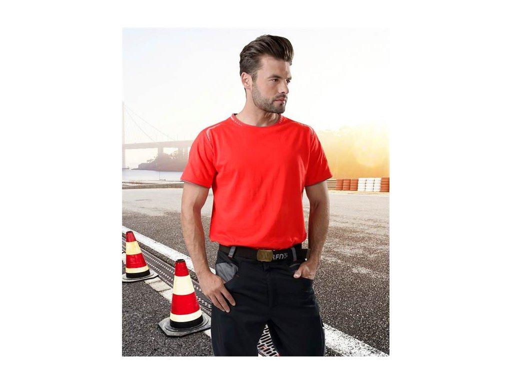 Tričko R8ED červené