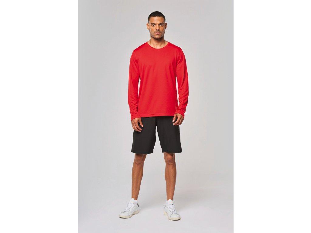 Pánske športové tričko dlhý rukáv