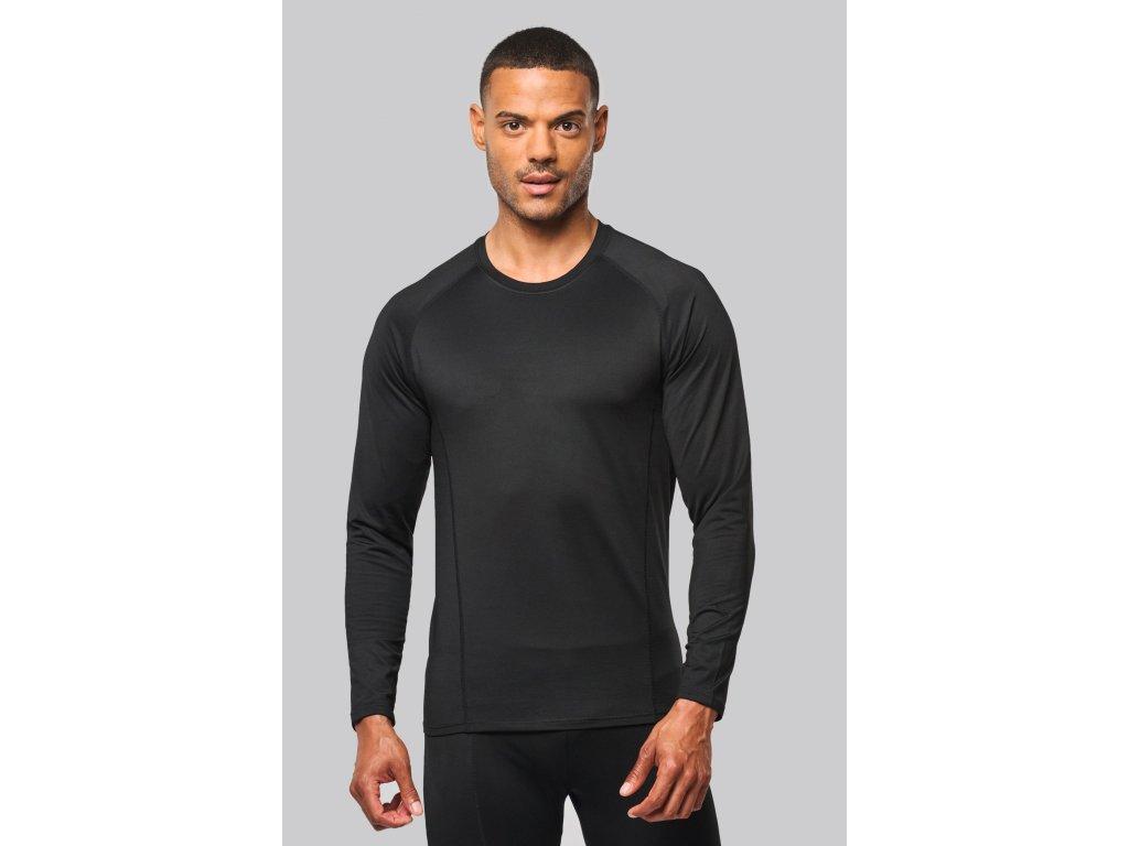 Funkčné športové rychloschnúce elastické tričko dl.rukáv