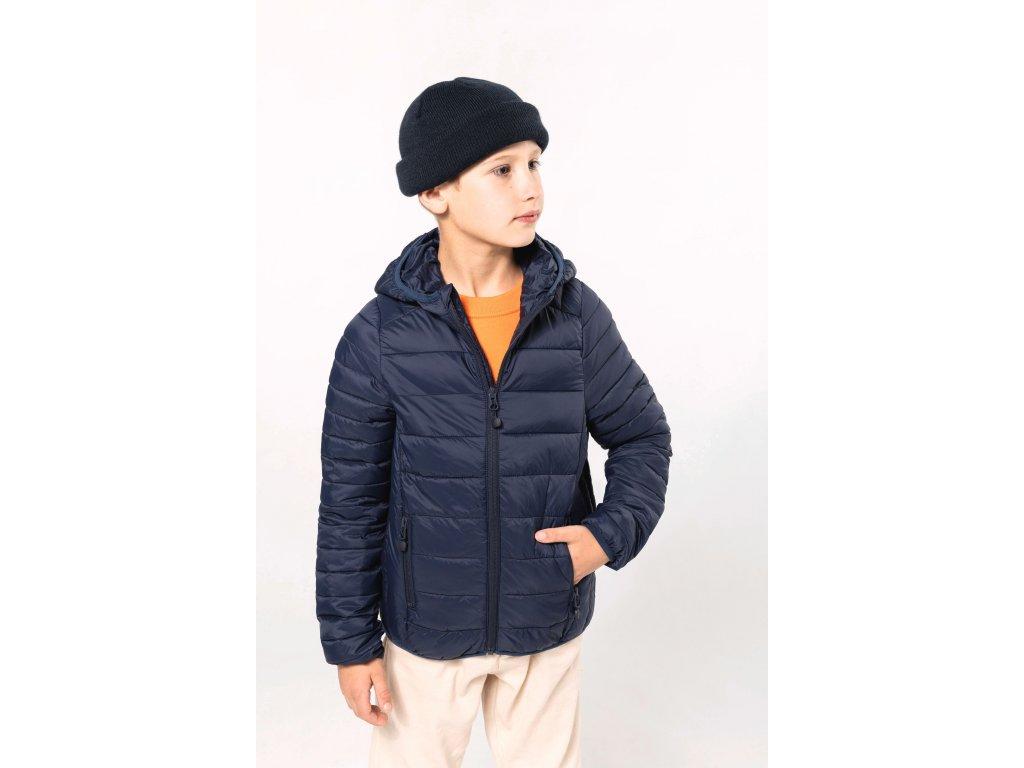 Detská zimná bunda s kapucňou Down Jacket