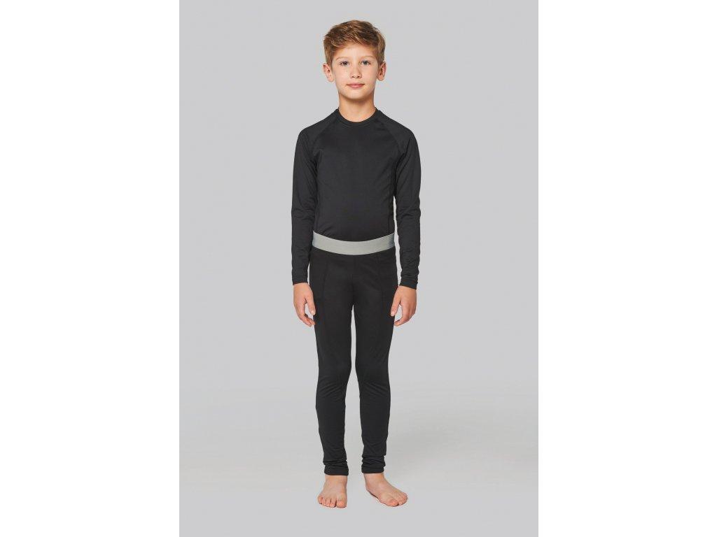 Detské funkčné tričko pod dres - dl.rukáv