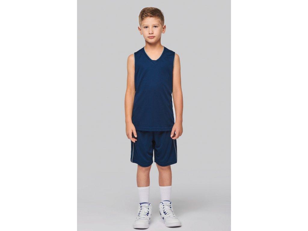 Detský basketbalový dres - tielko