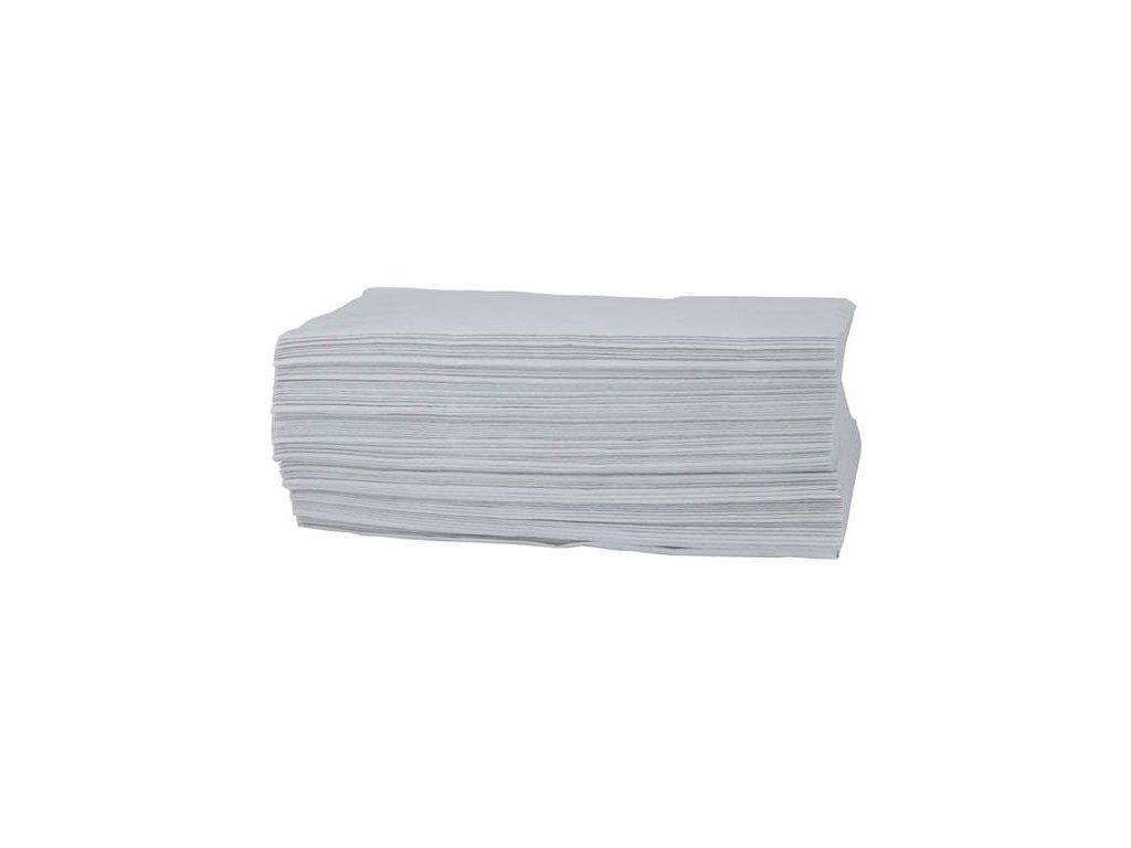 ZZ uteráky - biele, dvouvrstvové (3000 ks)