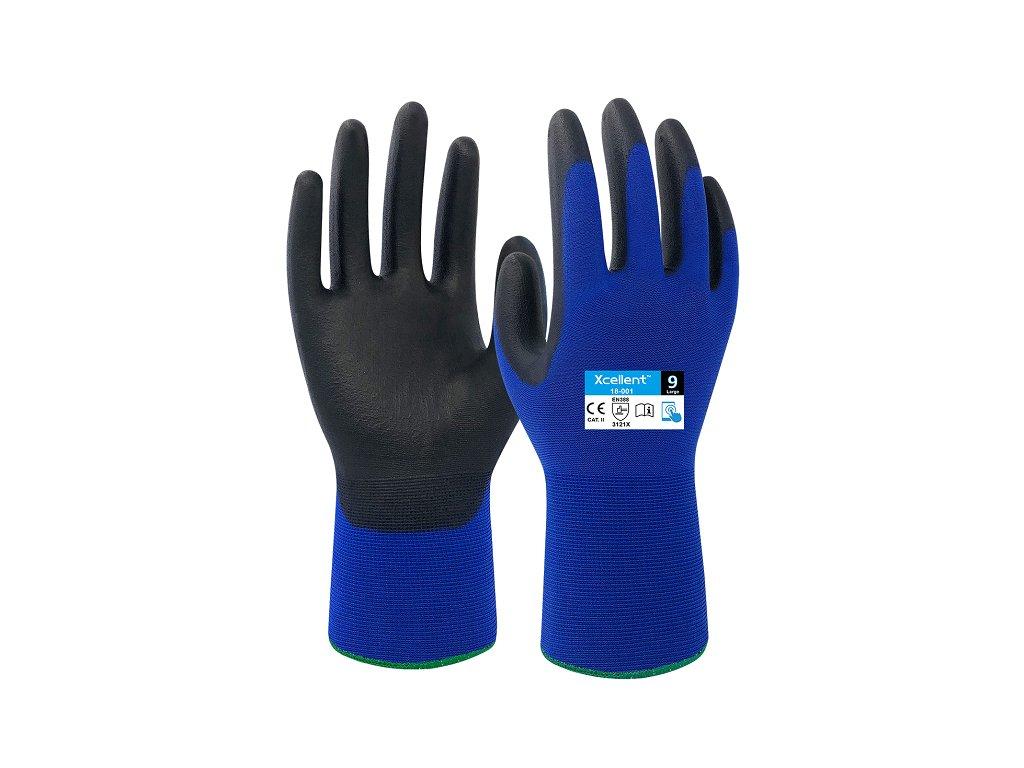 Ergonomické ultra tenké nylonové rukavice XCELLENT 18-001