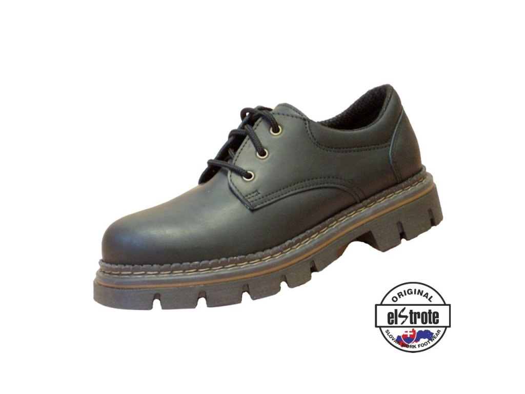 Pracovná farmárková obuv HEAVY 91 160 O1 čierna - dopredaj