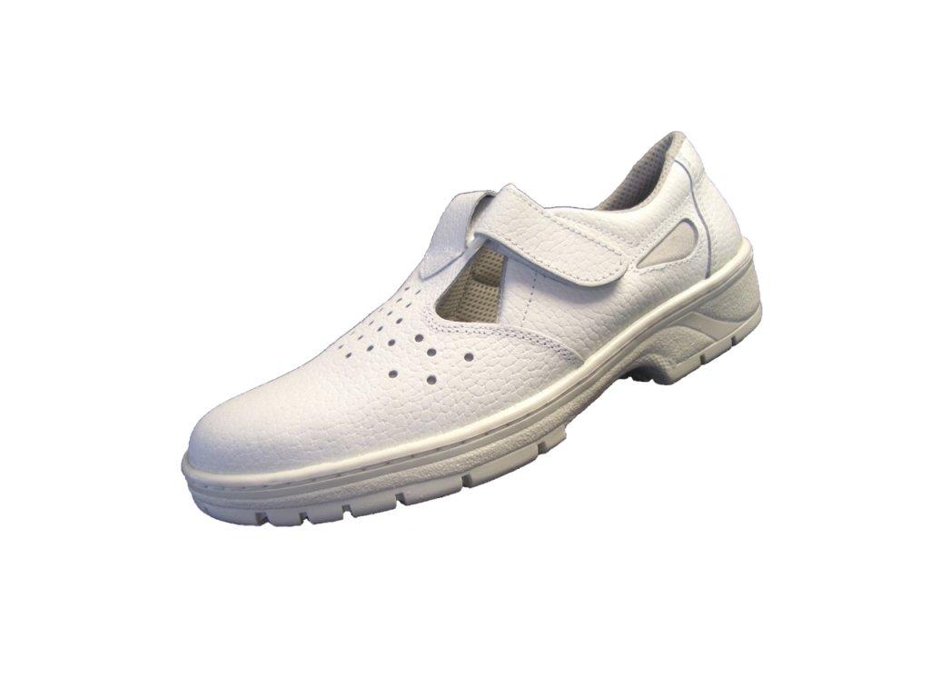 Pracovné sandále KLASIK 91 260 O1 biela - dopredaj