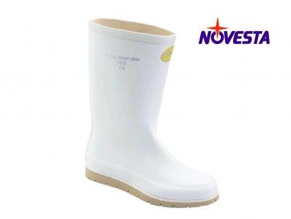 Dámske protišmykové čižmy NOVESTA N250142 O1 biele