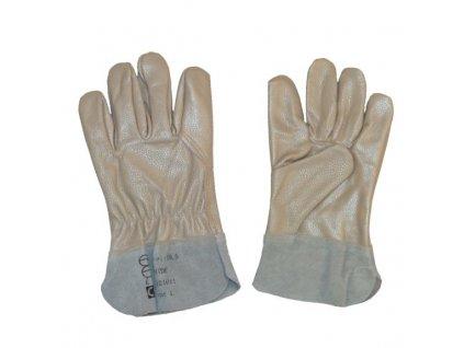 Celokožené pracovné rukavice HIDE AB
