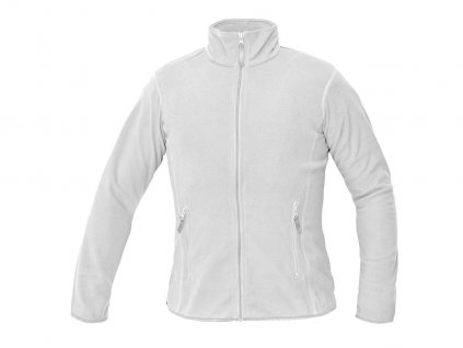 Dámska flísová bunda GOMTI biela