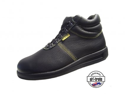 Bezpečnostná asfaltérska obuv 91 255 ASF S1 čierna