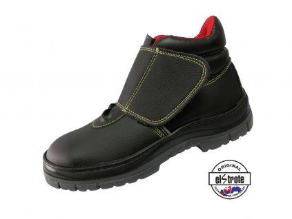 Bezp. obuv na suchý zips SECURA HYDRA KEVLAR 91 255 V S2 čierna
