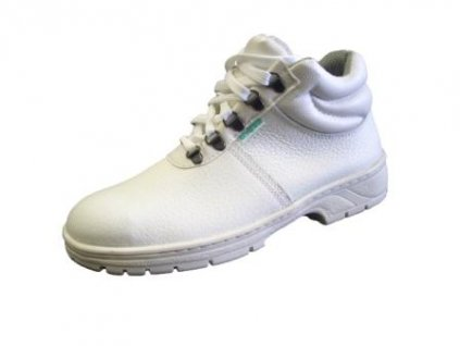 Bezpečnostná členková obuv KLASIK 91 255 S1 biela