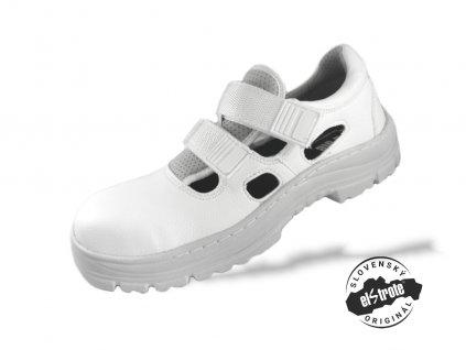 Bezpečnostné sandále SECURA HYDRA 91 265 E S1 biele