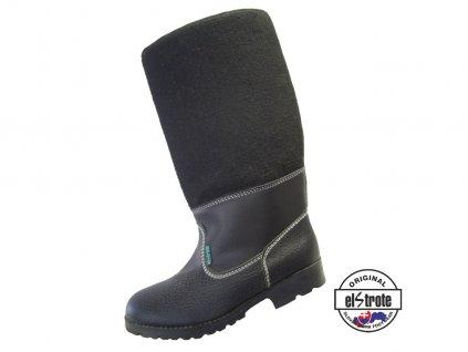 Bezpečnostná vysoká obuv KAPCE 91 305 S1 čierne