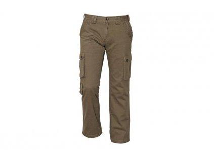 Pánske pracovné nohavice CHENA olivové - dopredaj