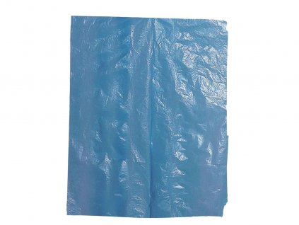 Jednorázové zástery balenie 100ks modré