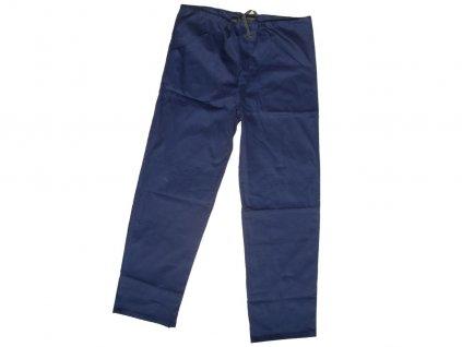 Dámske monterkové nohavice do pása KLASIK modré