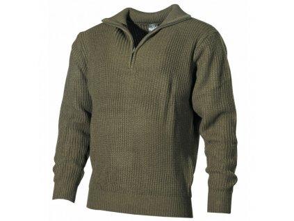 Pánsky polovnícky sveter TROYER