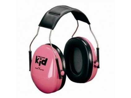 H510AK-442-GB, 3M™ PELTOR™ Kid ružové slúchadlá