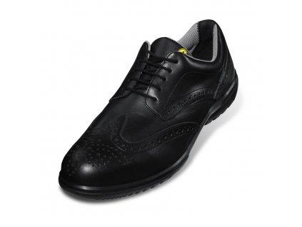 Bezpečnostné manažér. poltopánky UVEX Business casual S1 95128