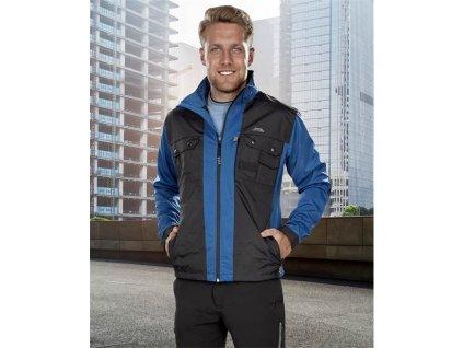 ARDON®JETT soft. bunda modro-čierna