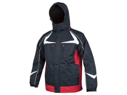 ARPAD páns. zim. bunda modro-červená
